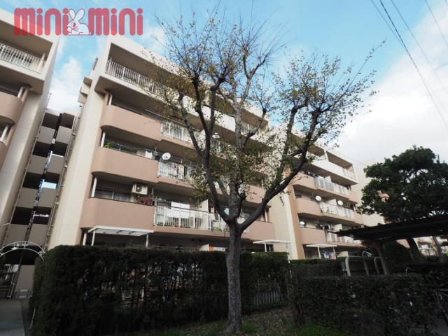 生の松原サンハイツ9棟の外観画像