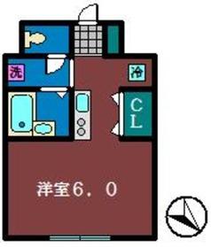 パラッツォ・オッティモ2階Fの間取り画像