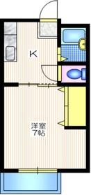 ミキハウスC1階Fの間取り画像