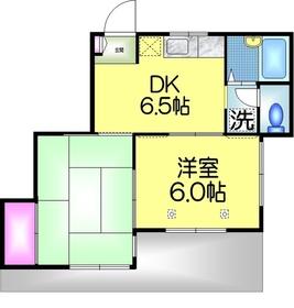 ラ・ミエールC1階Fの間取り画像