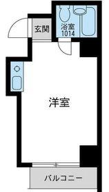 ウィンベル川崎第105階Fの間取り画像