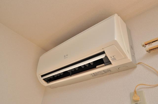 ブリエール布施A棟 うれしいエアコン標準装備。快適な生活が送れそうです。