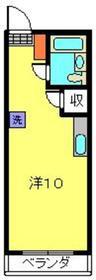 上大岡駅 徒歩15分2階Fの間取り画像