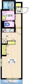マニビータ 新子安1階Fの間取り画像