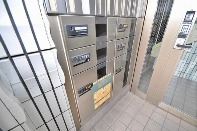 エスポアール春日Ⅱ エントランス内には各部屋毎のメールボックスがあります。