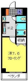 シャトール田口金沢八景3階Fの間取り画像