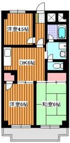 西高島平駅 徒歩20分3階Fの間取り画像