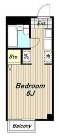 みずほビル8階Fの間取り画像
