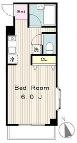 第7矢沢ビル6階Fの間取り画像