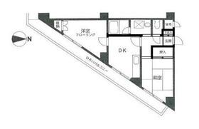 レーベンハイム・ヤマダ1階Fの間取り画像