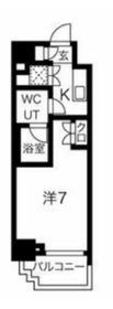 スパシエグランス横浜反町6階Fの間取り画像