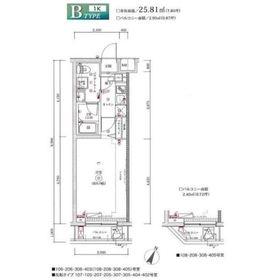 富士見台駅 徒歩5分2階Fの間取り画像