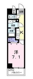 フォースピア3階Fの間取り画像