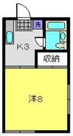 東白楽駅 徒歩9分2階Fの間取り画像