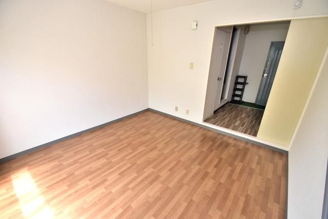 シャトーユキ 明るいお部屋は風通しも良く、心地よい気分になります。