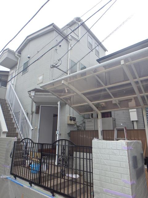 駒沢3丁目二世帯住宅外観