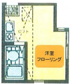 東門前駅 徒歩21分2階Fの間取り画像