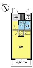 スカイコート横浜弘明寺4階Fの間取り画像