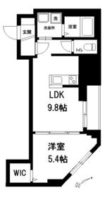 メゾンロジィエ2階Fの間取り画像
