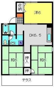旭レジデンスA1階Fの間取り画像