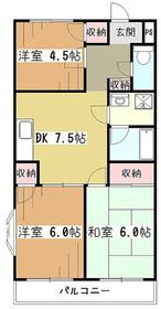 コーツ211階Fの間取り画像