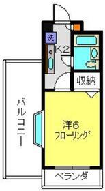 ライオンズマンション横浜三ツ沢3階Fの間取り画像
