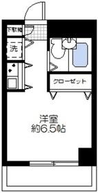 ネオマイム鶴見リバーサイド2階Fの間取り画像