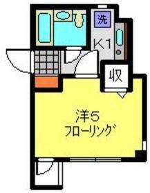 ティアラコート2階Fの間取り画像