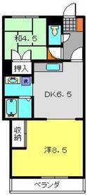 和田町駅 徒歩7分1階Fの間取り画像
