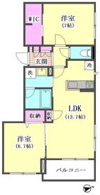 ラルゴ大田中央 203号室