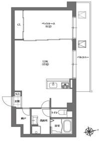 ASPRIME千代田富士見3階Fの間取り画像
