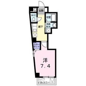 エクセレント赤塚3階Fの間取り画像