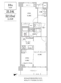 コンフォリア目黒青葉台2階Fの間取り画像