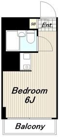 ブリリアンメゾンオノ1階Fの間取り画像