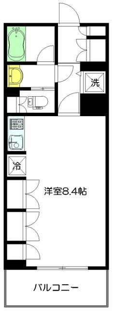 アトラス江戸川アパートメント間取図