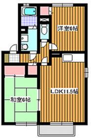 アッティカヒル2階Fの間取り画像