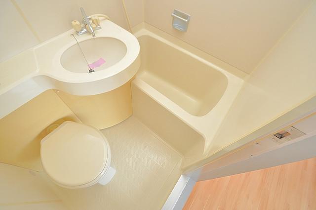 サニーハイム小若江 お風呂・トイレが一緒なのでお部屋が広く使えますね。