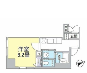 POWERHOUSE/横濱6階Fの間取り画像