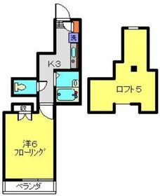ジョイフル諏訪2階Fの間取り画像