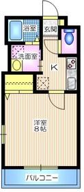 ドリーバ1階Fの間取り画像