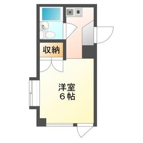 丸信ビル3階Fの間取り画像