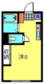 元住吉駅 徒歩5分2階Fの間取り画像