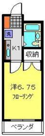 エクセル富岡1階Fの間取り画像