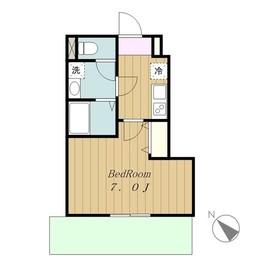 アデランテ2階Fの間取り画像