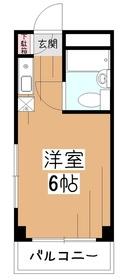 TOP東村山2階Fの間取り画像