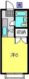 日吉駅 徒歩7分1階Fの間取り画像