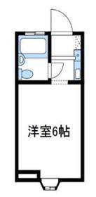 アリス海老名Ⅱ1階Fの間取り画像