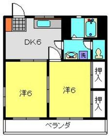 日吉駅 徒歩20分1階Fの間取り画像