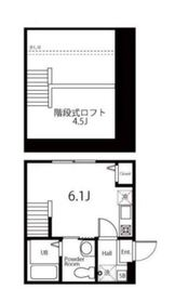 ハーミットクラブハウス横浜浅間台Ⅱ(仮)2階Fの間取り画像