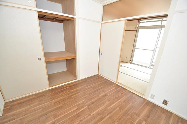 グリーンハイツ竜田 もちろん収納スペースも確保。いたれりつくせりのお部屋です。